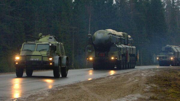 The Topol M missile system - Sputnik France