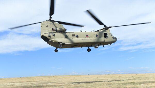 Boeing CH-47 Chinook - Sputnik France