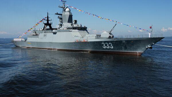 La corvette russe Soverchenni - Sputnik France