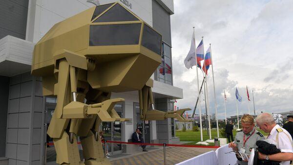 Управляемый прямоходящий робот с рабочим названием Игорек весом 4,5 т, разработанный концерном Калашников - Sputnik France