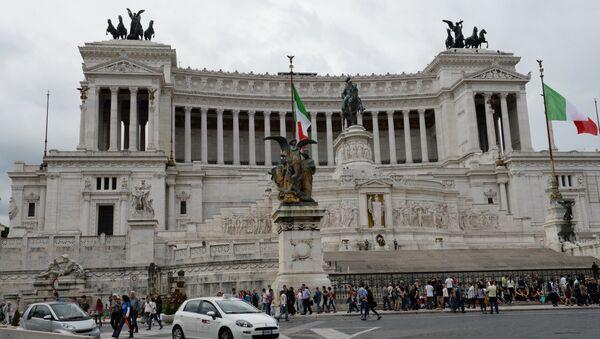 La Piazza Venezia à Rome - Sputnik France