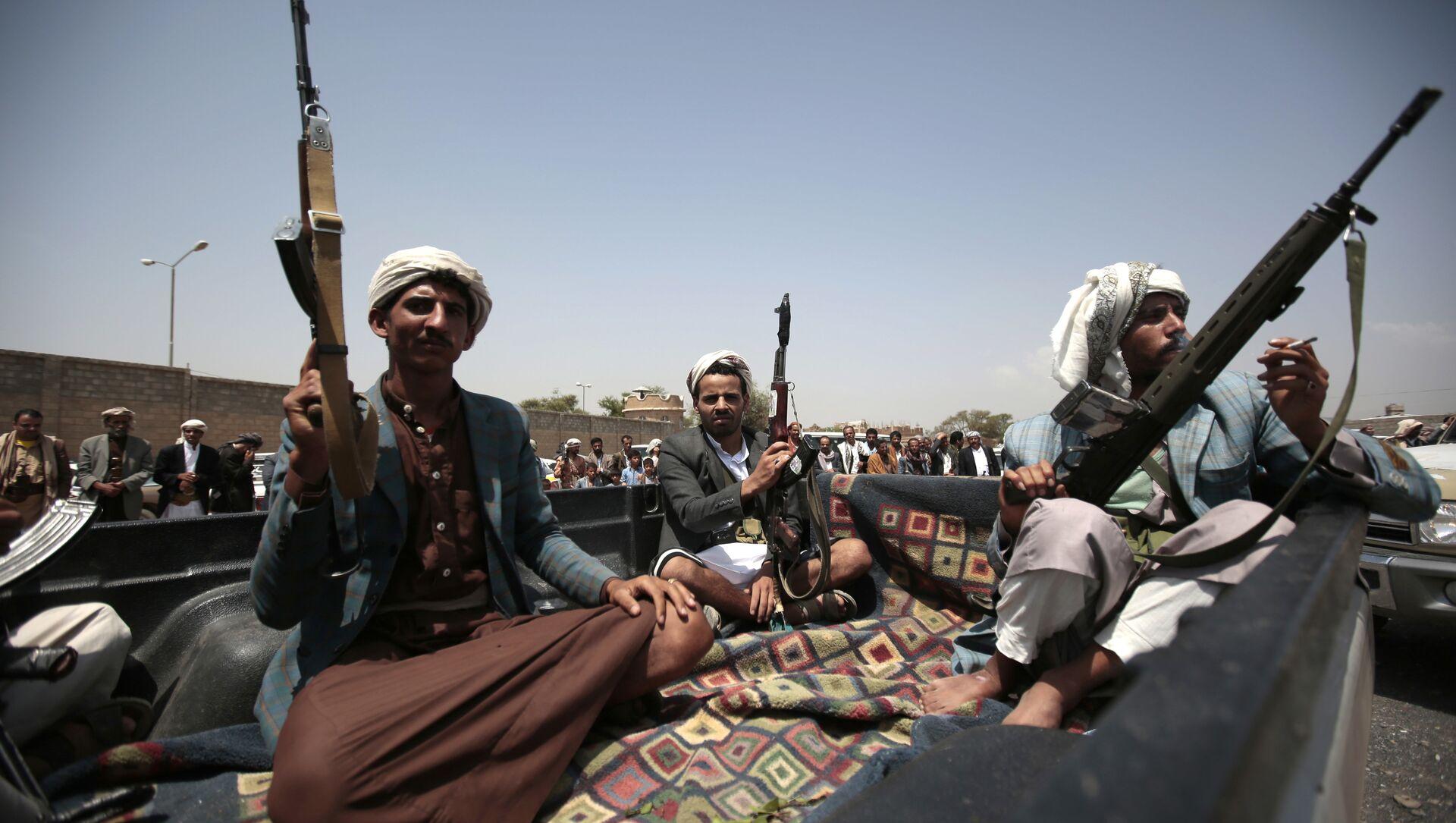 Des Houthis au Yémen - Sputnik France, 1920, 23.06.2021