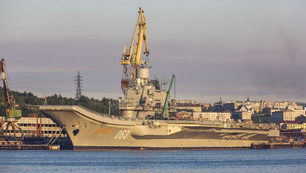 Le croiseur lourd russe Admiral Kouznetsov - Sputnik France