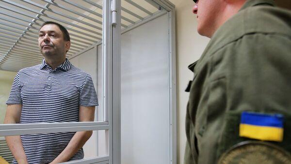 Le journaliste Kirill Vychinski au tribunal de Kherson - Sputnik France