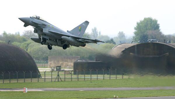 Un Eurofighter Typhoon britannique - Sputnik France