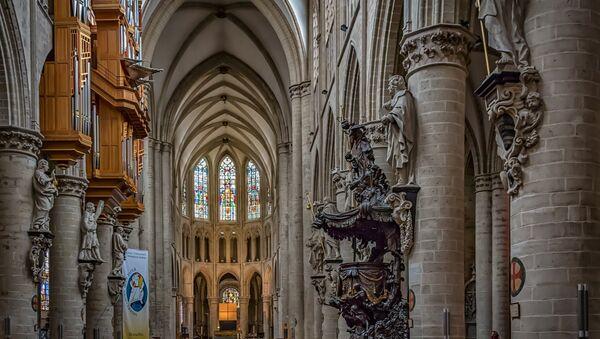 Cathédrale Saints-Michel-et-Gudule de Bruxelles - Sputnik France
