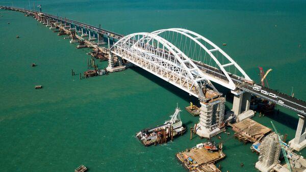 Строительство Крымского моста - Sputnik France