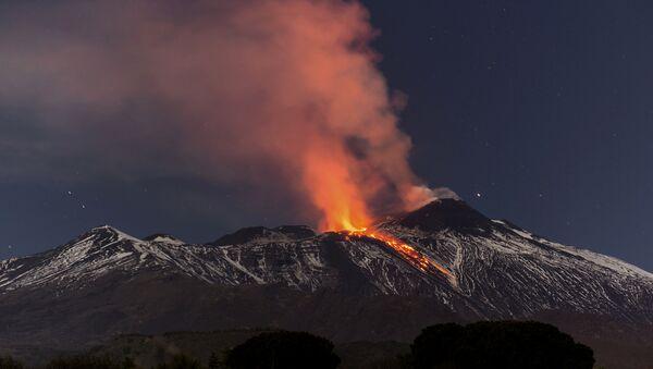 Eruption de l'Etna en 2017 - Sputnik France