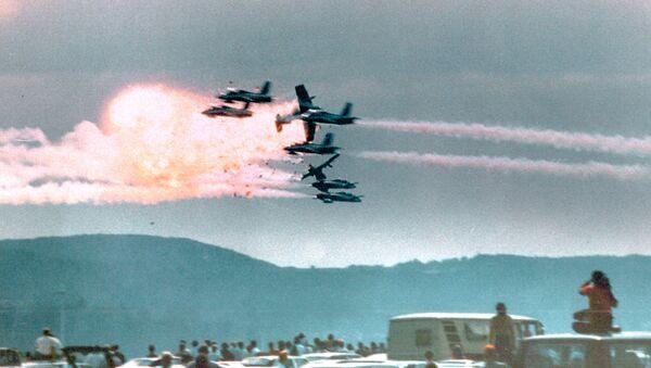 Il y a 30 ans, le spectacle aérien à la base de Ramstein tournait à la catastrophe - Sputnik France