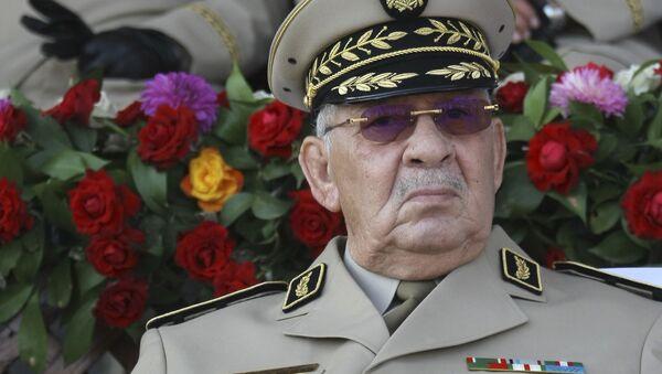 Le général de corps d'armée Ahmed Gaid Salah, le chef de l'état-major de l'ANP - Sputnik France