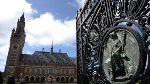 Дворец Мира в Гааге - официальная резиденция Международного суда ООН и Постоянной палаты третейского суда - Sputnik France