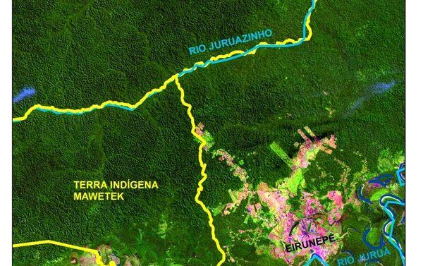 Carte des terres peuplées par des indigènes - Sputnik France