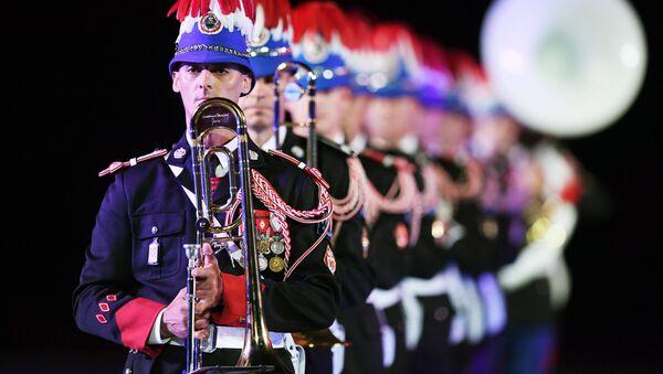 L'Orchestre des Carabiniers du Prince de Monaco à Moscou - Sputnik France