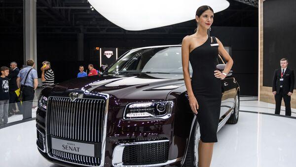 Aurus présenté au Moscow International Automobile Salon - Sputnik France