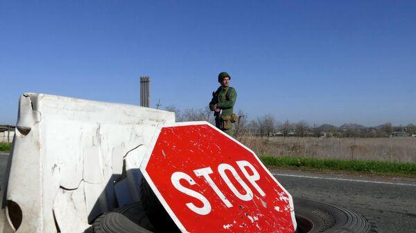 An der Donbass-Grenze (Symbolbild) - Sputnik France