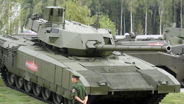 Le char T-14 Armata au forum Armée 2018 - Sputnik France