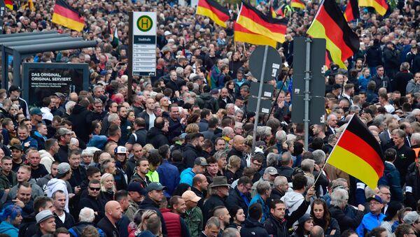 Manifestation à Chemnitz (1er septembre 2018) - Sputnik France
