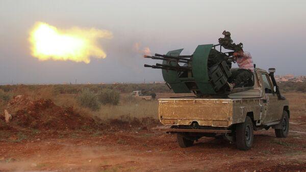 Des radicaux syriens dans le gouvernorat d'Idlib (image d'illustration) - Sputnik France