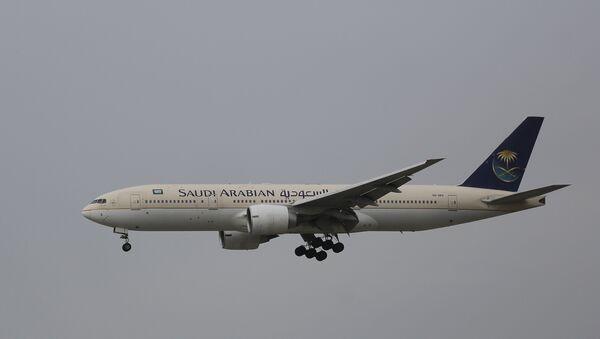 Passenger aircraft of the Saudi Arabian Airlines - Sputnik France