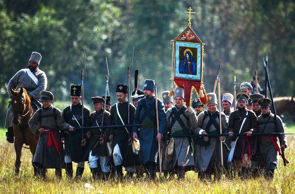 La reconstitution de la bataille de la Moskova - Sputnik France
