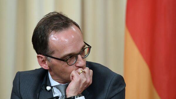 Le chef de la diplomatie allemande Heiko Maas - Sputnik France