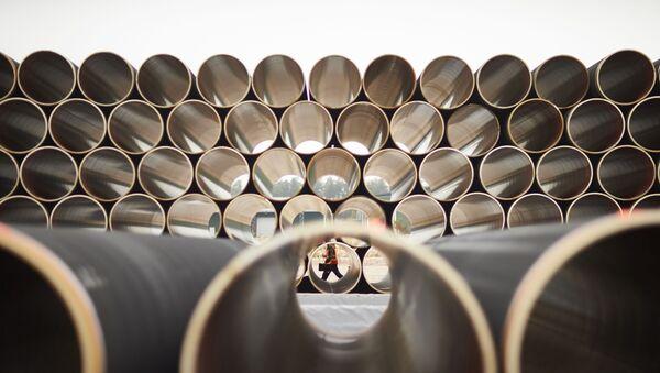 Tubes pour le gazoduc Nord Stream 2 (archives) - Sputnik France