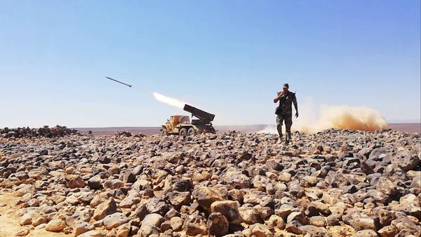 Syrie: le champ volcanique d'al-Safa transformé en champ de bataille - Sputnik France