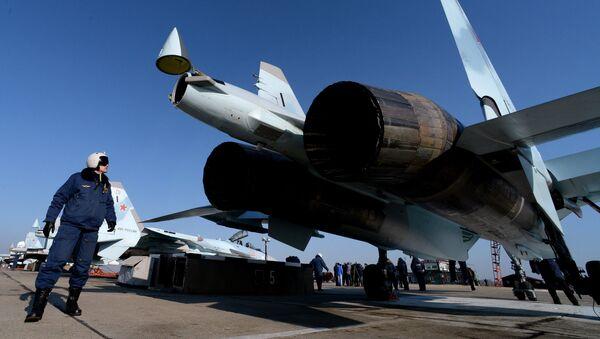 Авиаполк Восточного военного округа получил два новых истребителя Су-35С - Sputnik France