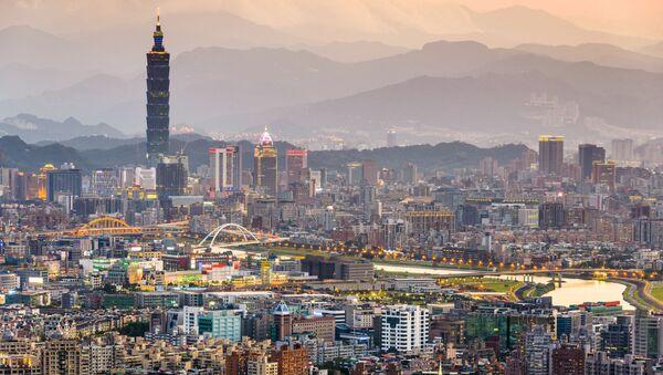 Панорама Тайбэя в Тайвани - Sputnik France