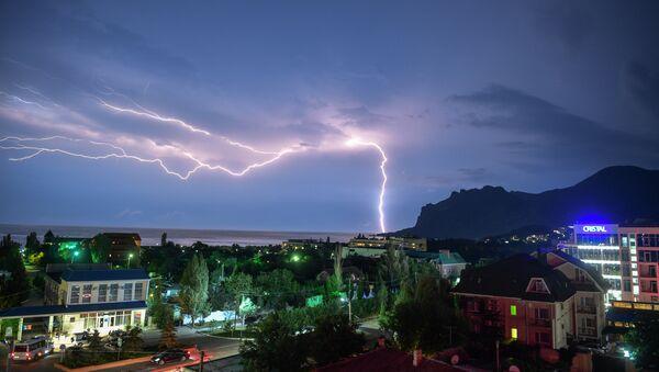Des trombes marines et de fortes pluies déferlent sur le sud de la Russie - Sputnik France