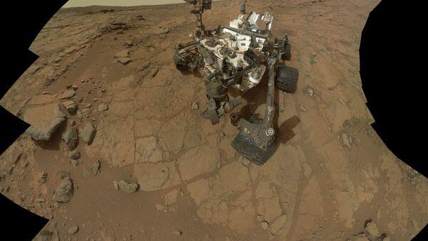 Mars rover, Curiosity - Sputnik France