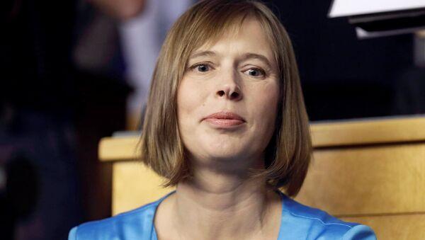 Kersti Kaljulaid, Présidente estonienne - Sputnik France