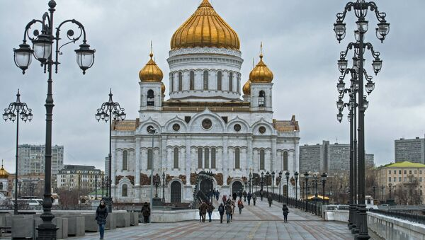 Cathedral of Christ the Savior in Moscow - Sputnik France