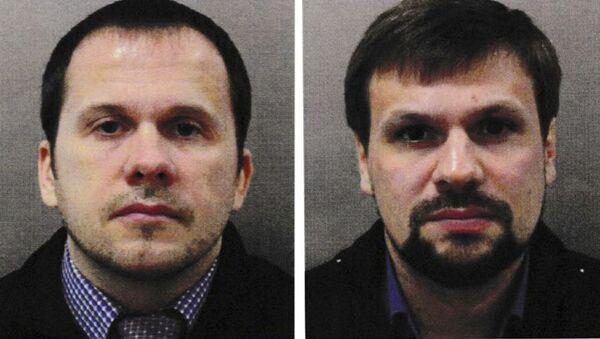 Подозреваемые в отравлении Скрипалей в Солсбери - Sputnik France
