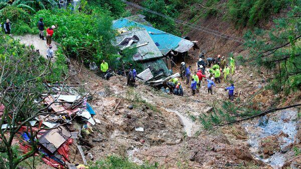 Le typhon Mangkhut - Sputnik France