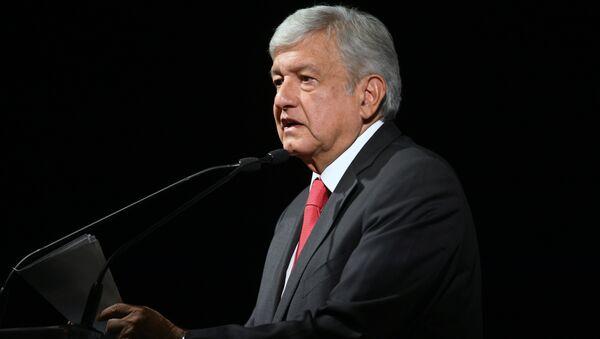 Andres Manuel Lopez Obrador, nouveau Président mexicain - Sputnik France
