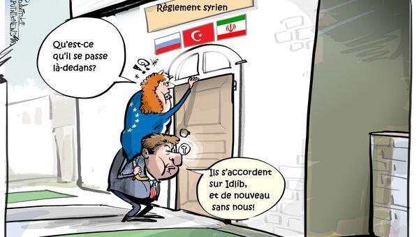Moscou et Ankara se sont accordés sur la création d'une zone tampon dans le gouvernorat d'Idlib - Sputnik France