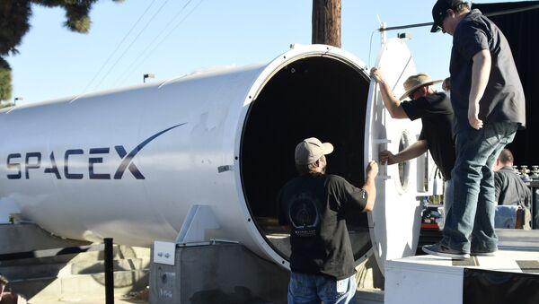 Au concours de capsules Hyperloop organisé par SpaceX - Sputnik France