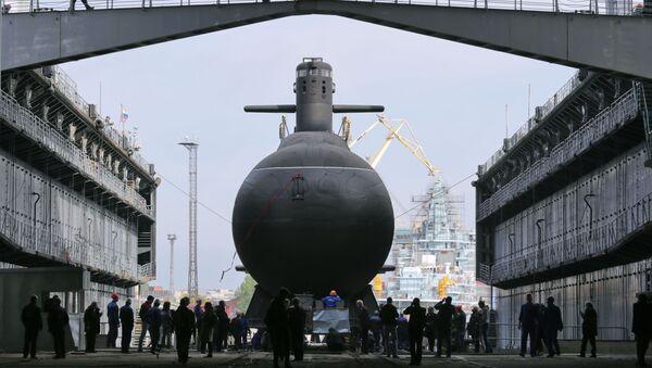 Mise à l'eau du sous-marin Kronstadt - Sputnik France