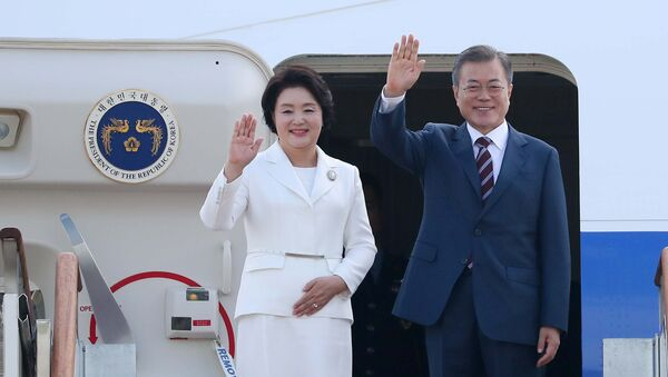 Moon Jae-in à Pyongyang - Sputnik France