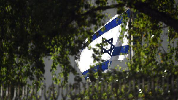 Israels Flagge über der Botschaft in Moskau - Sputnik France