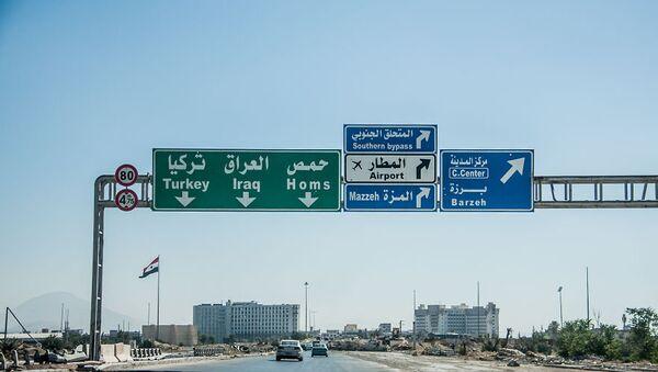 La route vers Homs - Sputnik France