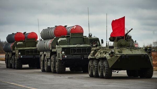 Тренировка механизированной колонны войск Санкт-Петербургского гарнизона - Sputnik France