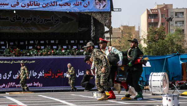 Attaque lors d'un défilé militaire à Ahvaz (22 septembre 2018) - Sputnik France