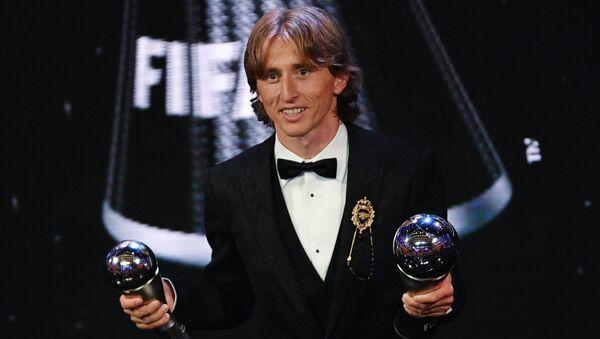 Luka Modric sacré meilleur joueur de l'année - Sputnik France