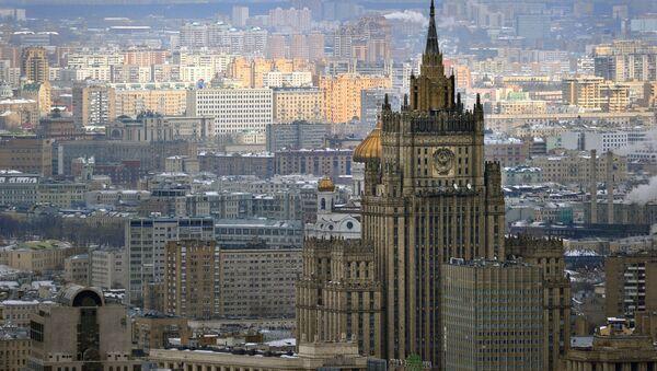 Здание министерства иностранных дел РФ - Sputnik France