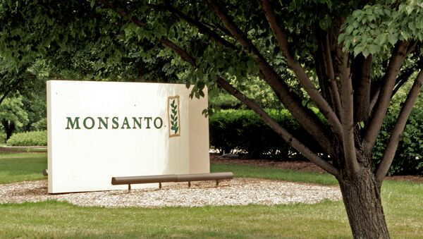 A sign at the Monsanto Co. headquarters located in St. Louis, Missouri. - Sputnik France