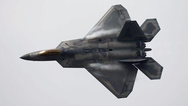 Un F-22 Raptor américain - Sputnik France