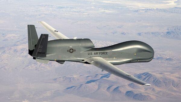 Un drone RQ-4 Global Hawk - Sputnik France