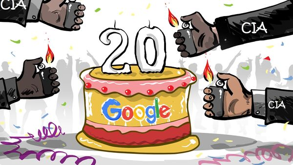 Google souffle ses 20 bougies - Sputnik France